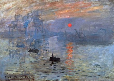 Monet, Claude: Impression, Sunrise (Soleil Levant). Fine Art Print/Poster. Sizes: A4/A3/A2/A1 (003216)